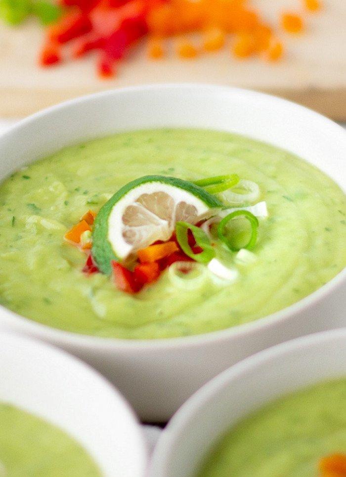 Cool Avocado Soup