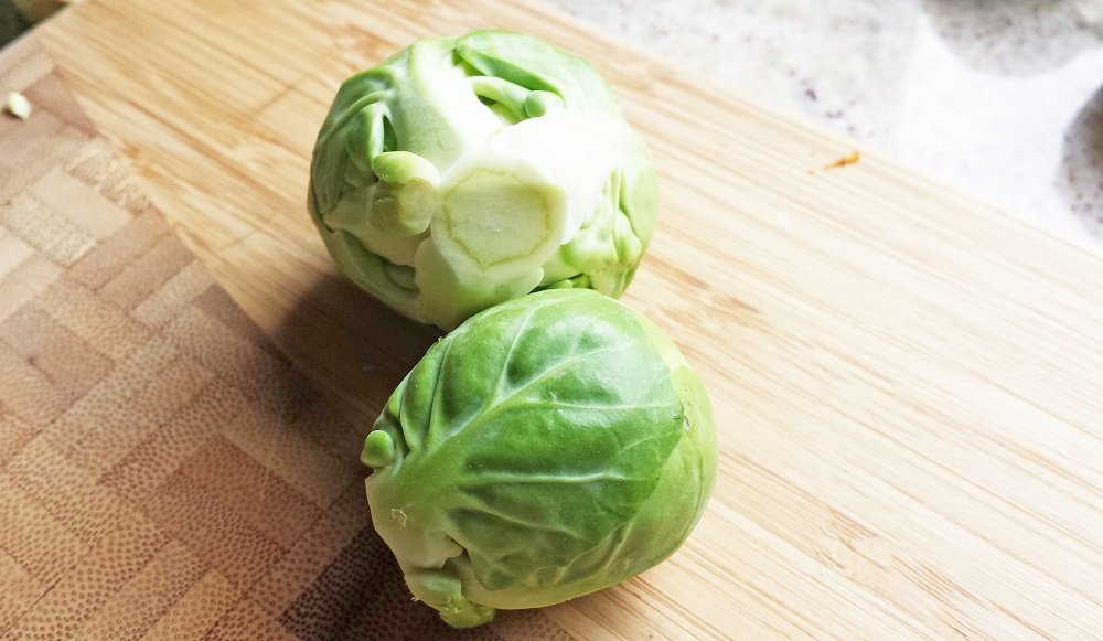 gluten free, brussels sprouts with garlic butter, cooking lessons