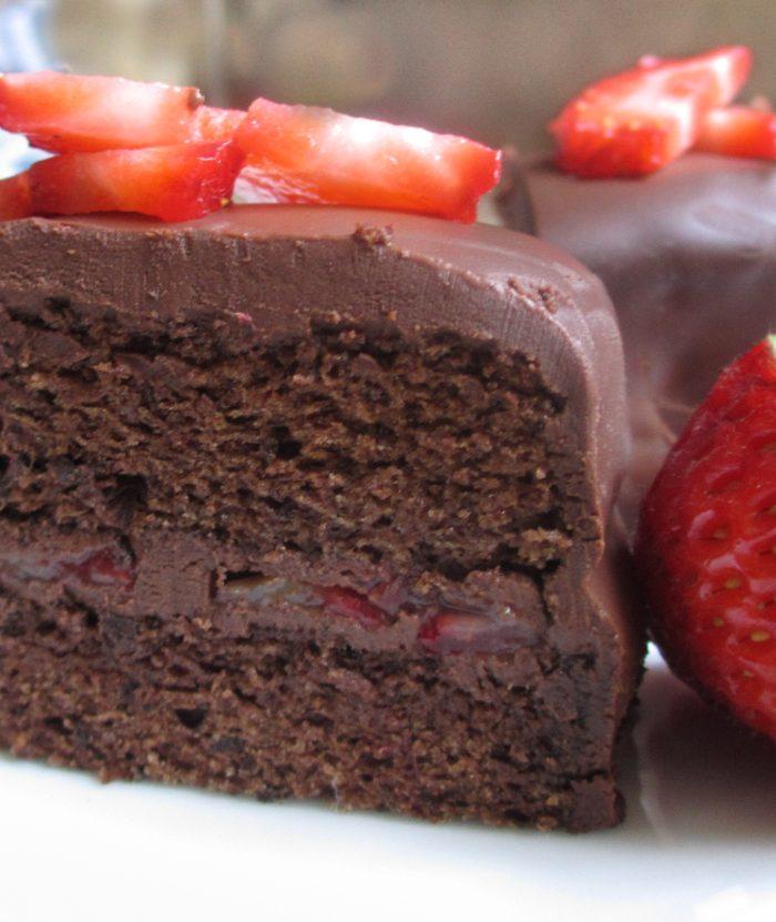 Gluten-Free Chocolate Sponge Cake