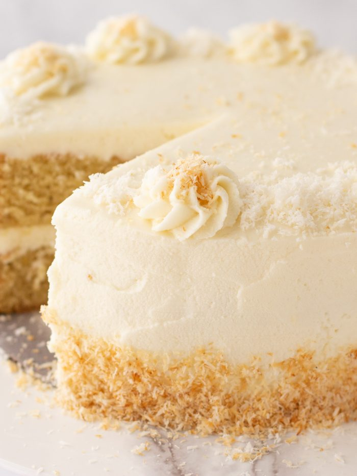 Gluten-Free Coconut Cake (Dairy-Free)