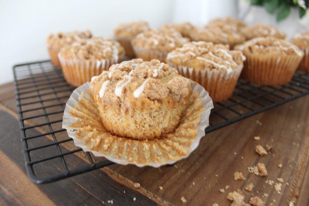 gluten free muffins, recipe, banana muffins, celiac friendly, vegan muffins