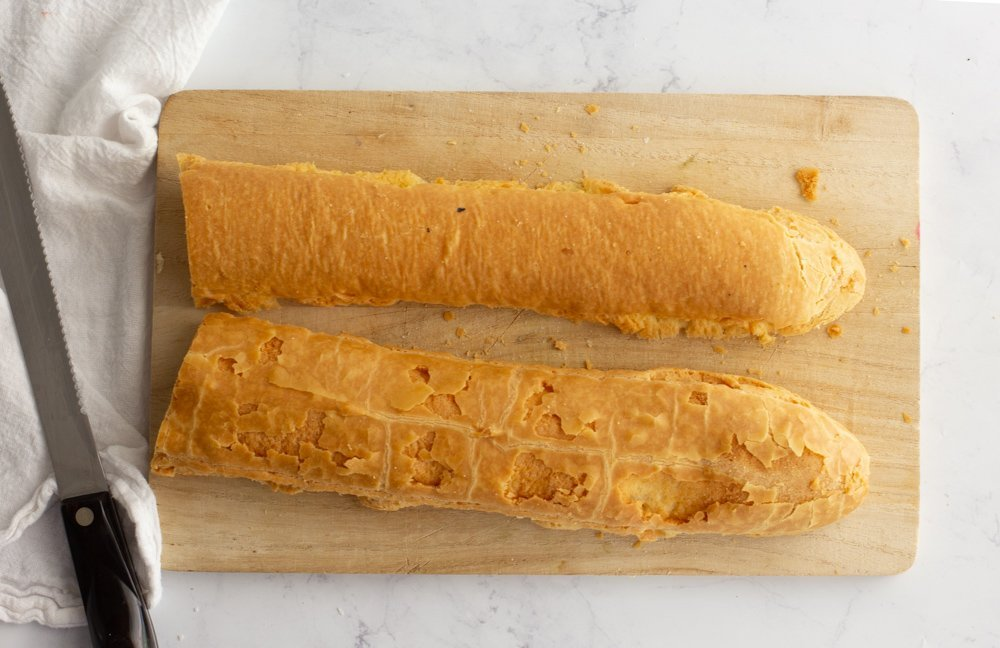 gluten-free baguette, crouton recipe, cooking lessons