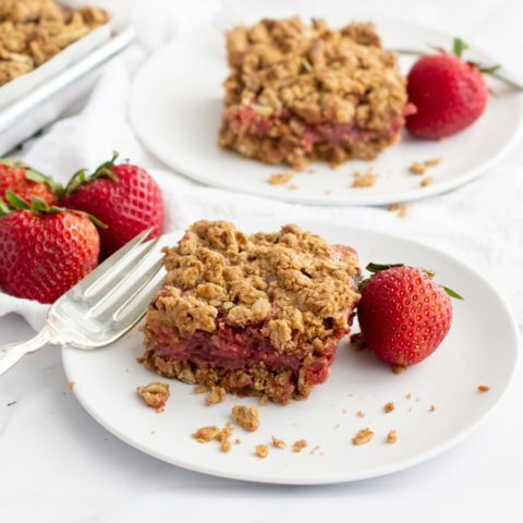 Gluten-Free Strawberry Bars