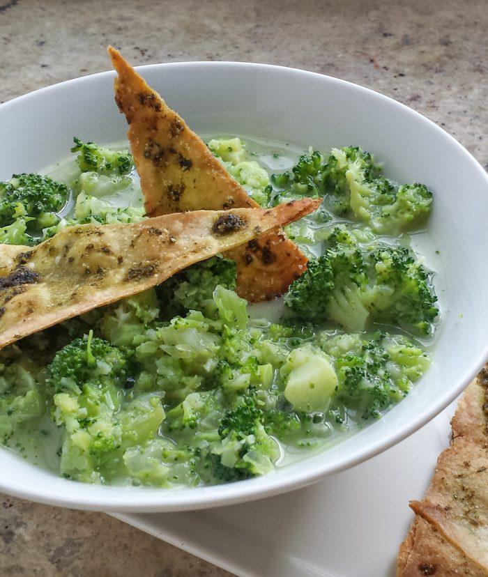 Chunky Broccoli Soup
