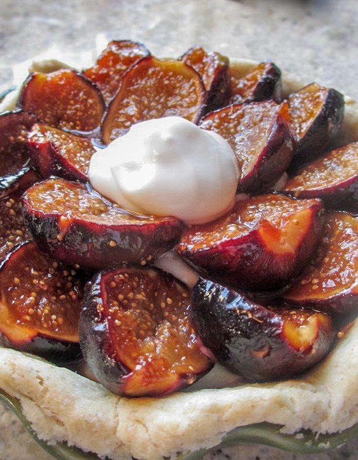 Gluten-Free Fig Pie