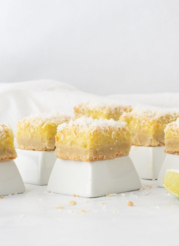 Gluten Free Lime-Coconut Bars