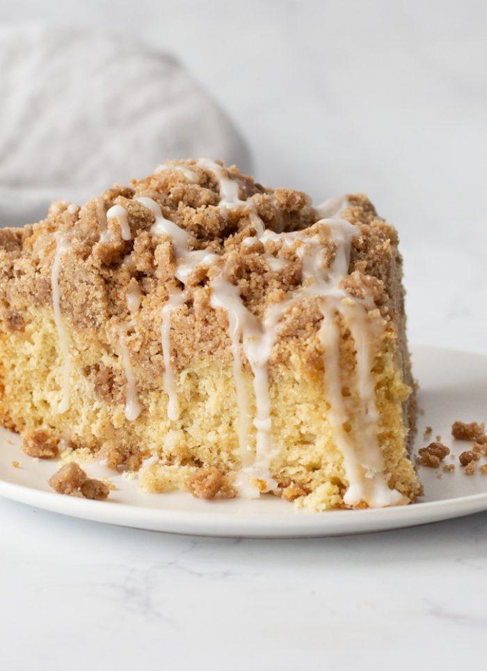 Gluten-Free Sour Cream Coffee Cake