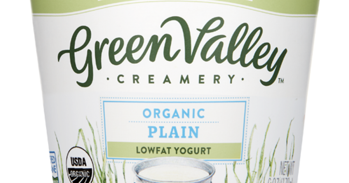 Organic Plain Yogurt - Lowfat