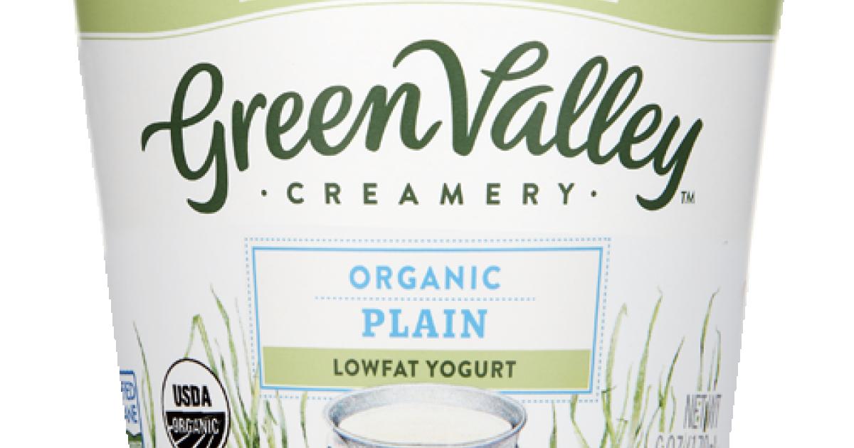 Organic Plain Yogurt - Lowfat