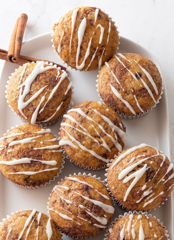Gluten-Free Dairy-Free Muffins with Cinnamon Swirl