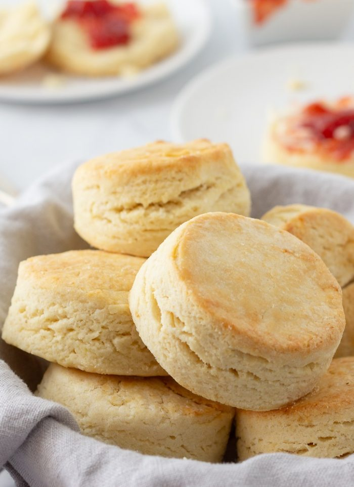 Gluten-Free Flaky Rolled Biscuits