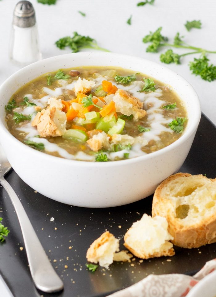 Lentil Quinoa Soup