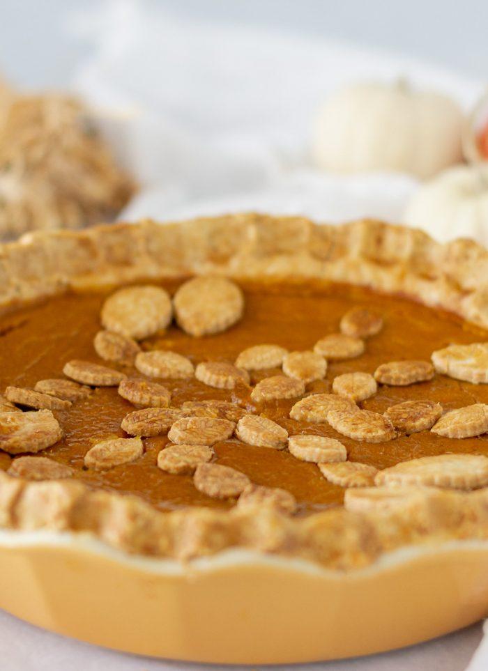 Sweet Potato Pumpkin Pie (Gluten-Free)