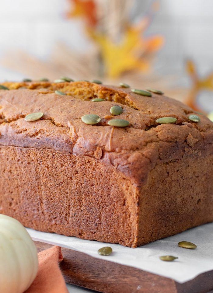 Pumpkin Bread – Gluten-Free, Vegan