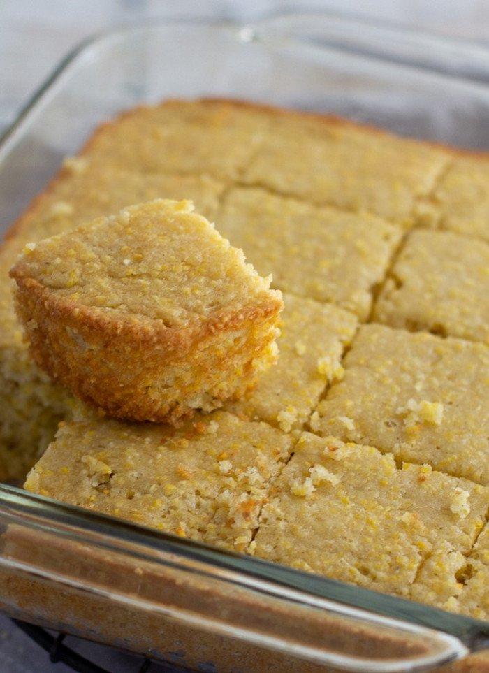 Sweet, Fluffy Gluten-Free Cornbread