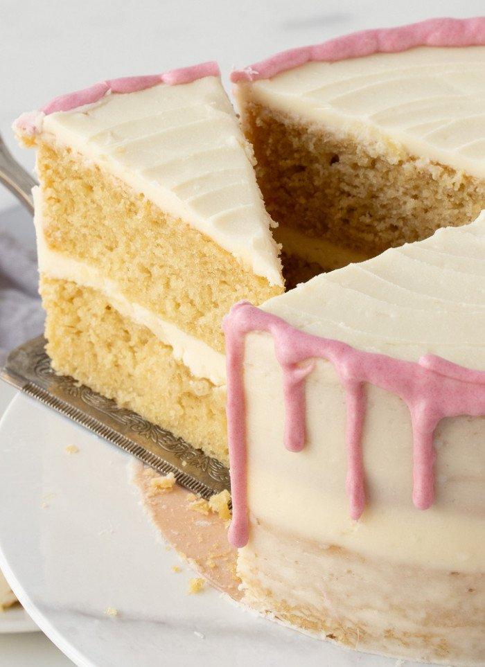 Gluten-Free, Dairy-Free Vanilla Cake