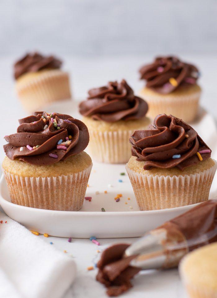 Gluten-Free Dairy-Free Vanilla Cupcakes