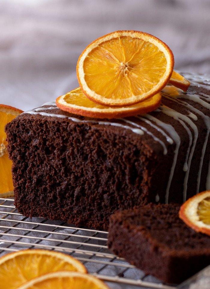 Dark Chocolate Orange Loaf Cake (Gluten-Free)