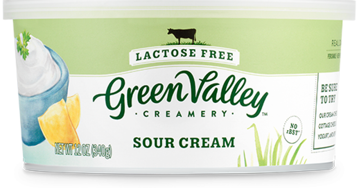 Lactose-Free Sour Cream