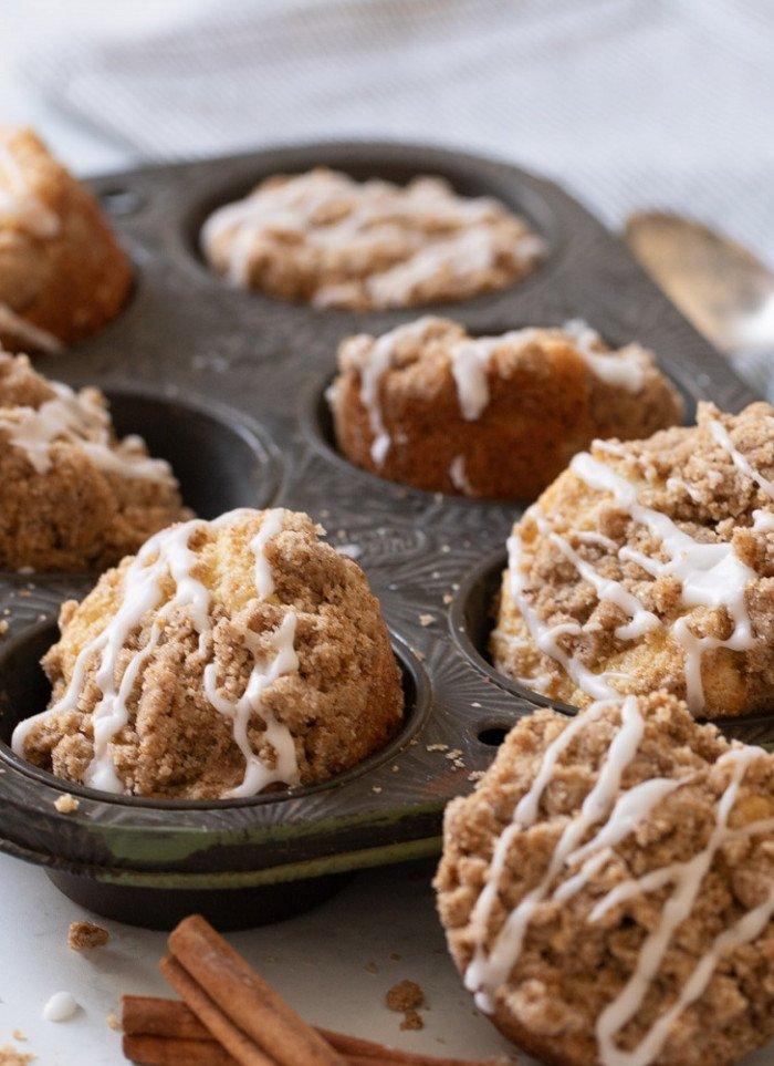 Gluten-Free Coffee Cake Muffins