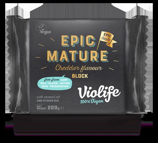 Epic Mature Cheddar Flavour Block