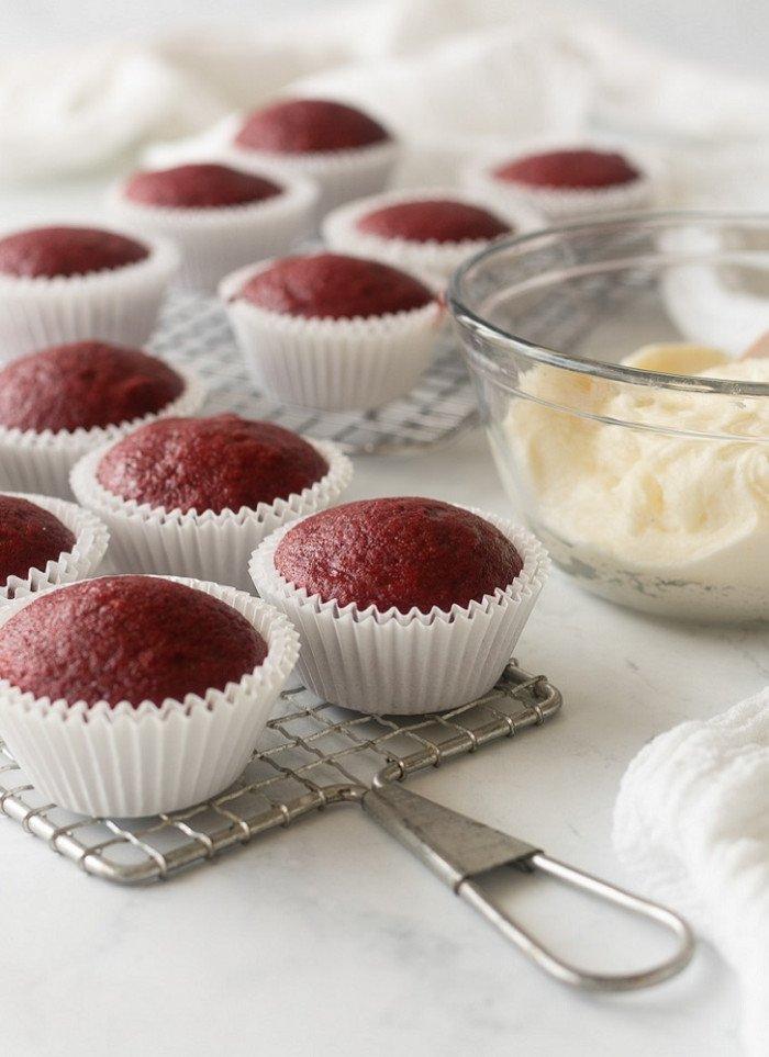 Gluten-Free Red Velvet Cupcakes