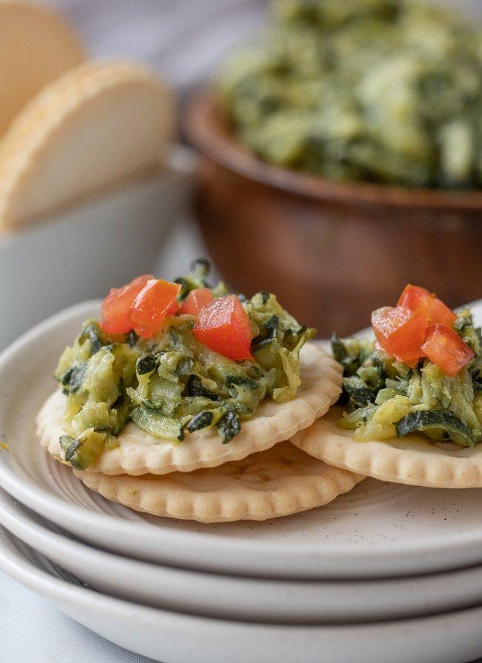 Healthy, Sautéed Shredded Zucchini Dip Recipe