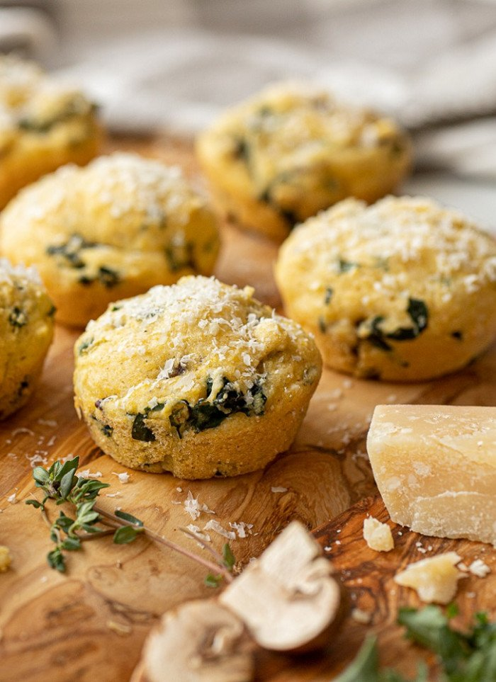 3 Gluten-Free Savory Breakfast Muffins with Mix-ins