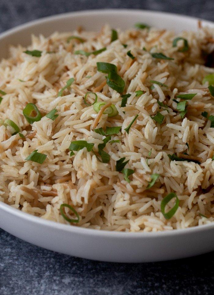 Stovetop Gluten-Free Basmati Rice Pilaf