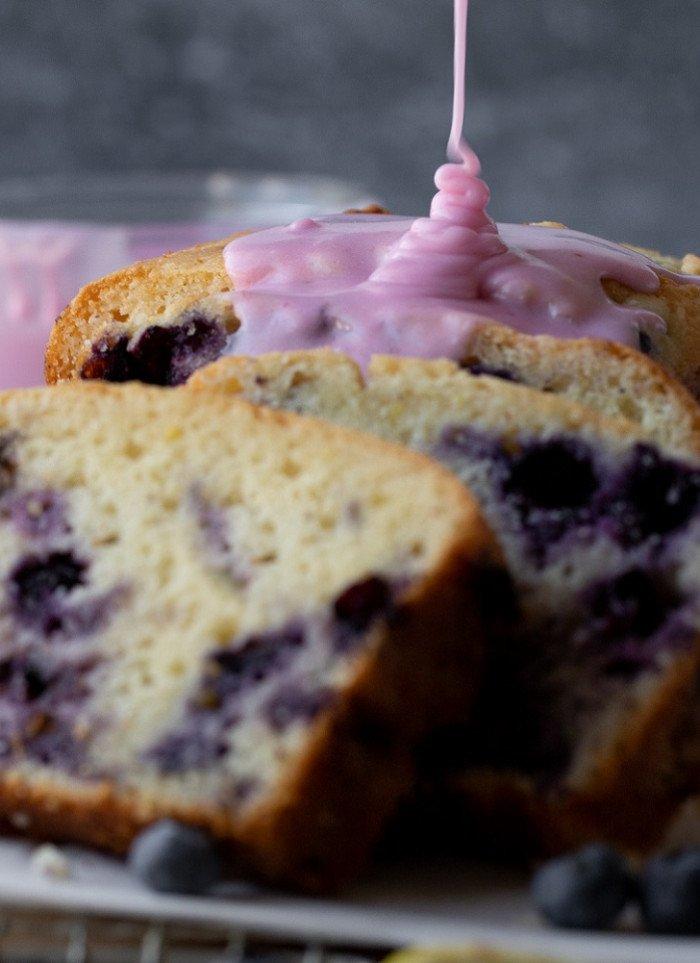 Moist, Fluffy Gluten-Free Lemon Blueberry Bread